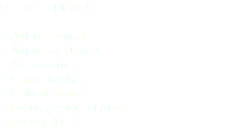 Distritos – Districts