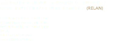 RÉGION LASALLIENNE DE L'AMÉRIQUE DU NORD / LASALLIAN REGION OF NORTH AMERICA (RELAN)